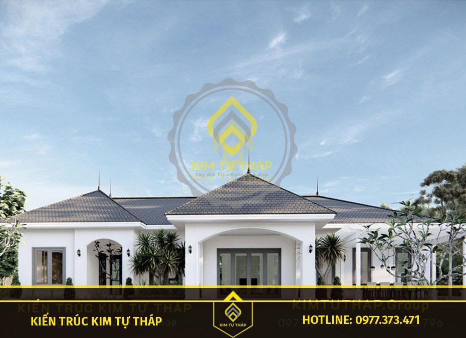 biệt thự mái thái 2 tầng Tân Phú sang trọng