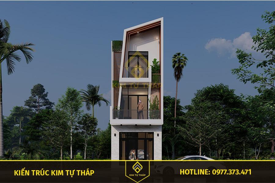 nhà phố 3 tầng hiện đại Biên Hòa đẹp