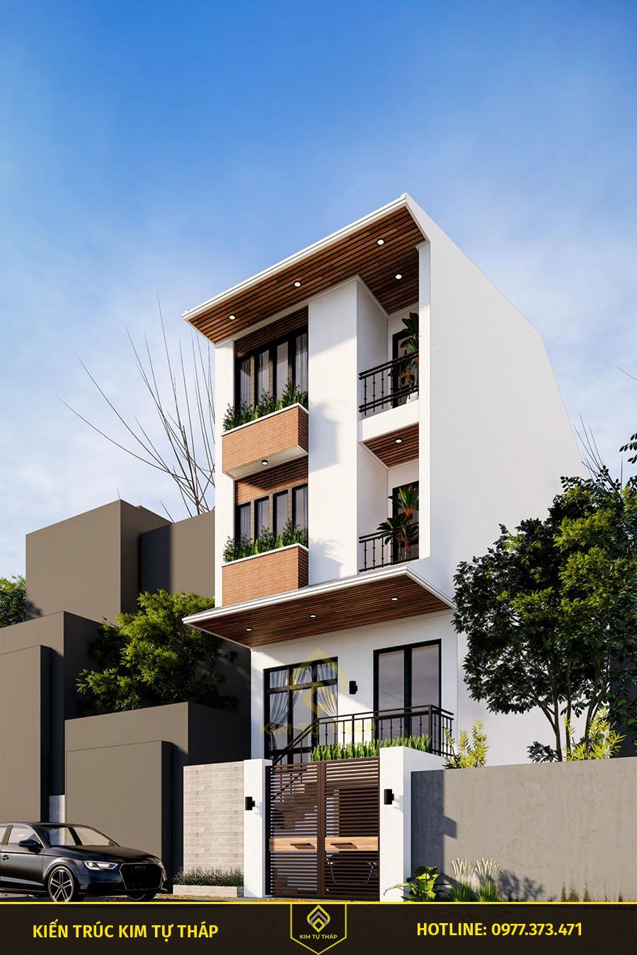 mẫu biệt thự phố tại HCM 3 tầng đẹp