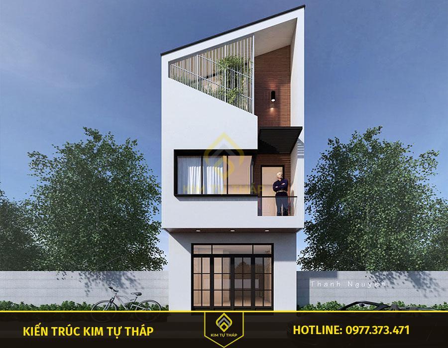 mẫu nhà tại Đồng Nai 3 tầng mặt tiền 5m