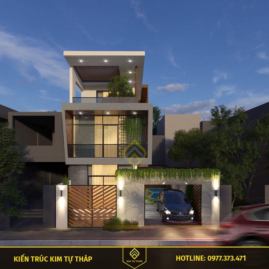mẫu nhà phố 3 tầng đẳng cấp