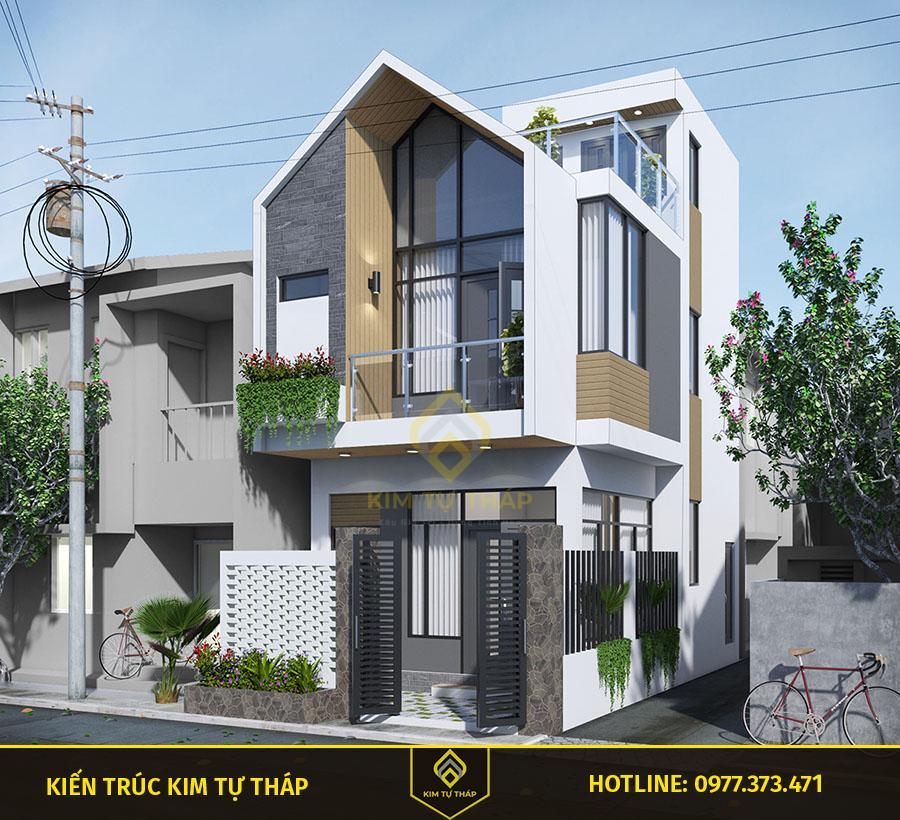 mẫu nhà tại Đồng Nai 2 tầng